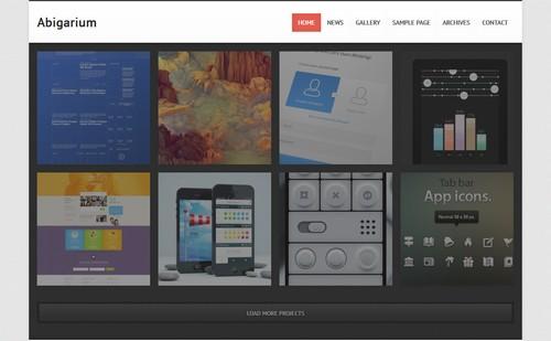 Abigarium – Premium WordPress Theme