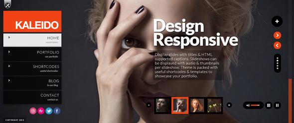 Kaleido Responsive WordPress Studio Theme