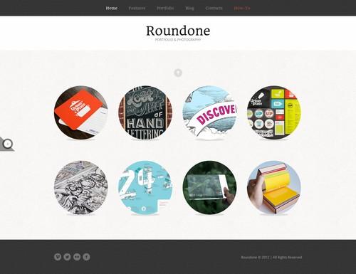 Roundone Ultimate Portfolio WP Theme