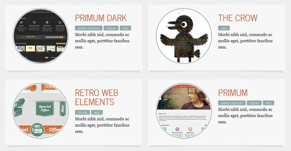 Secundo Great WordPress Theme for Porfolio Site